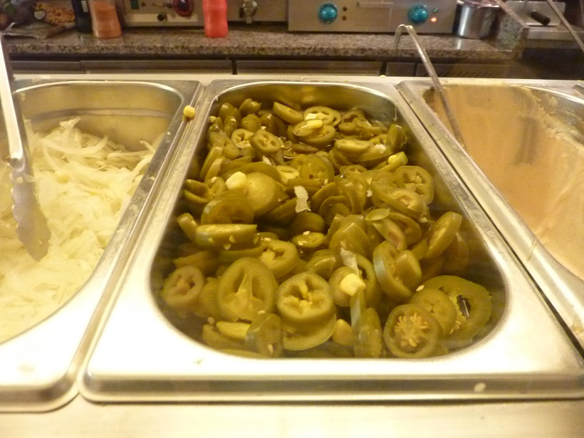 Jalapeno peppers have a place in every kebab