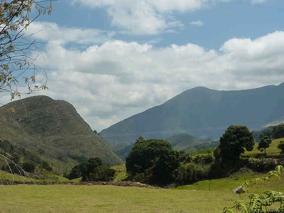 Colombian countryide is beautiful
