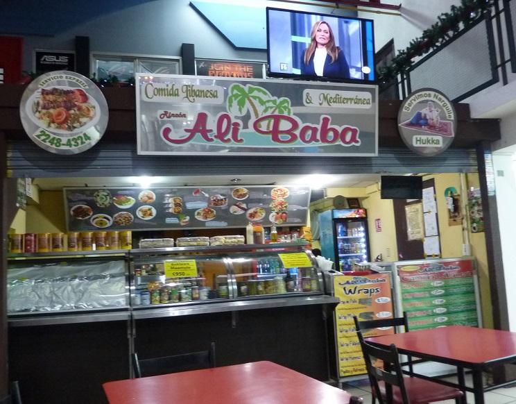 Costa Rica kebab in San Jose