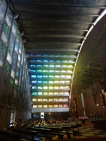 Crazy modernist church
