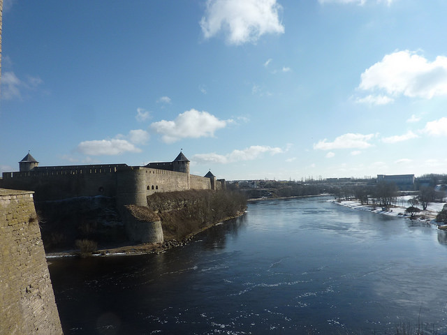 Fortress at Narva