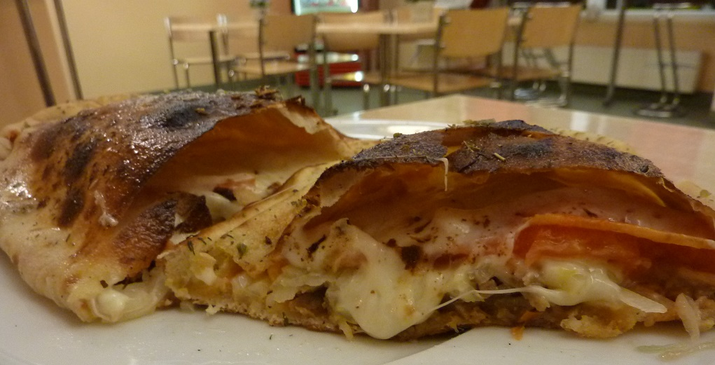 Inside the kebab calzone in Estonia