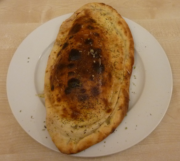 Kebab calzone in Estonia
