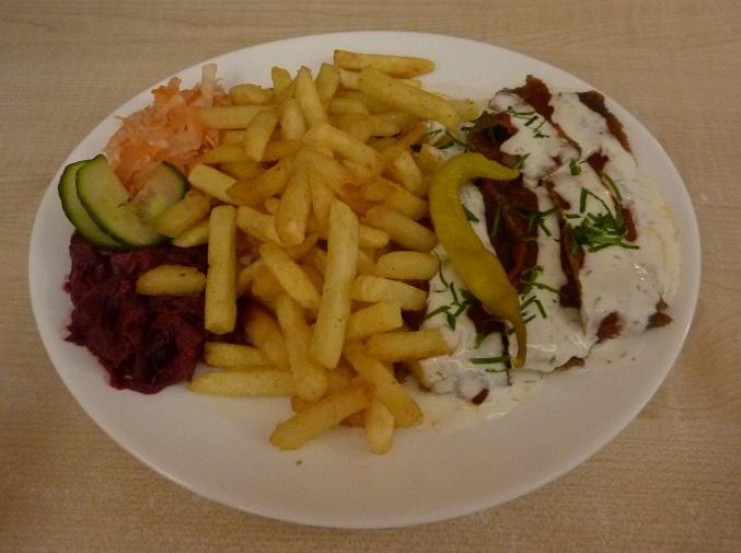 Estonian kebab special