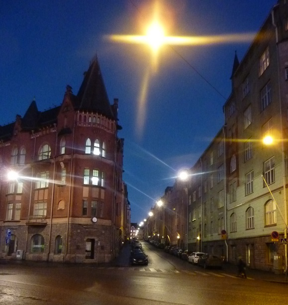 The street that Tove Jansson, creator of the Moomins, grew up on