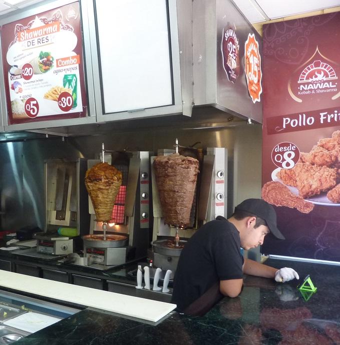 Kebab ele-legs in Guatemala City