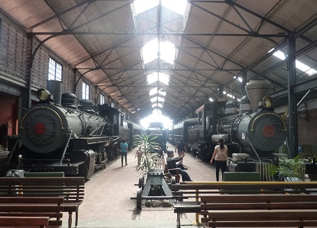 Train museum Guatemala City