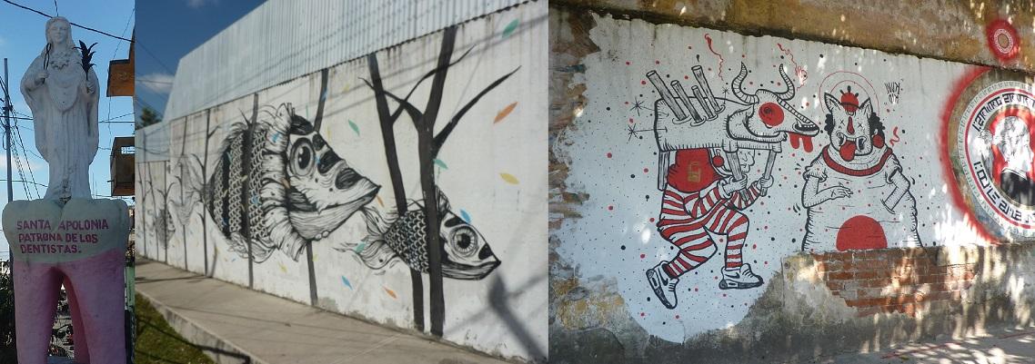 Zona 4 street art Guatemala