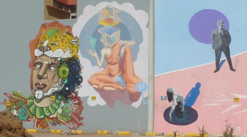 Zona 4 street art Guatemala City