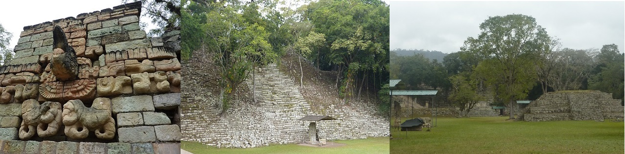 Ancient Mayan Copan in Honduras