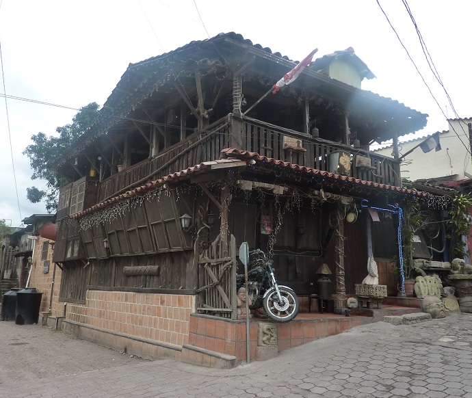 Site of the kebab restaurant in Copan Ruinas, Honduras