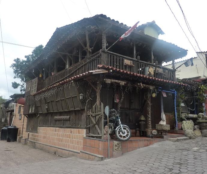 Site of the kebab restaurant in Copan Ruinas, Honduras
