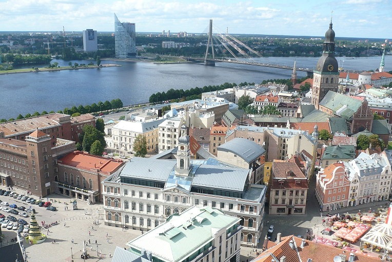 Riga with its nice old town
