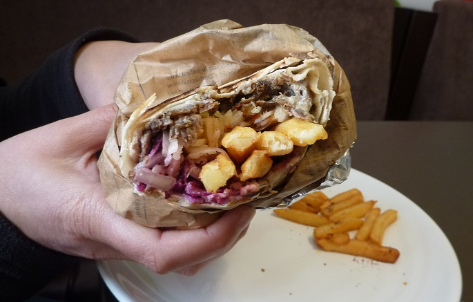 Chip kebab: the chip kebutty.