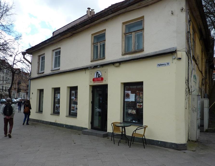 Vilnius has a kebab shop