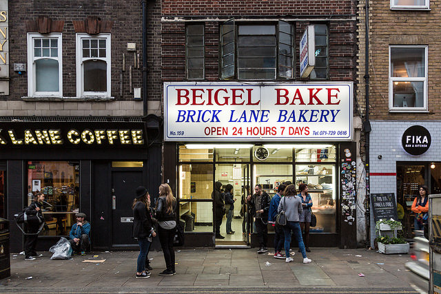The brick lane beigel bake