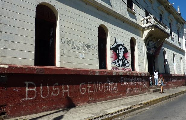 Bush and US interest in Nicaragua is not appreciated