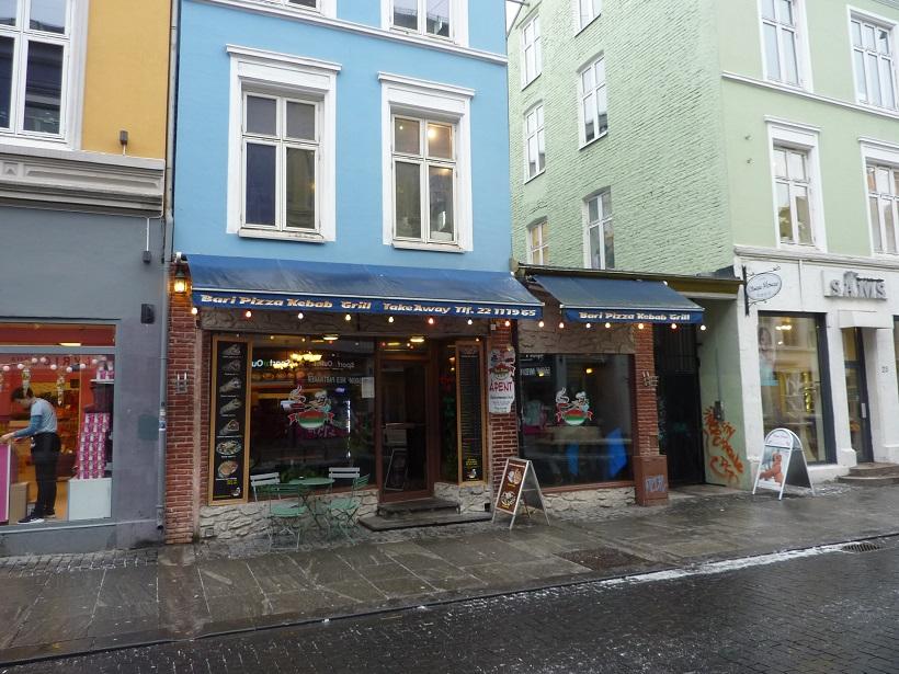 Norwegian kebab shop