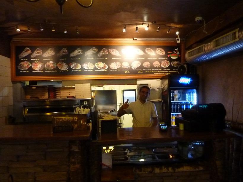 Norwegian kebab shop owner, from Kyrgyzstan!