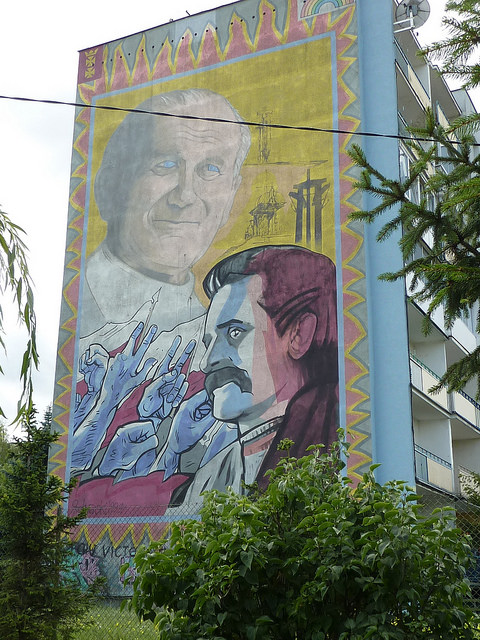 Lech Walesa and the Pope