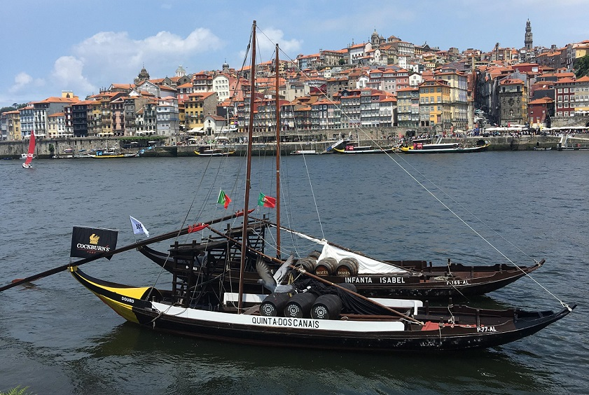 Porto boat full of port. Don't ask about the Cockburn