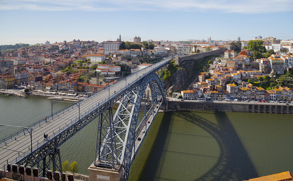 Porto has several nice bridges. Good