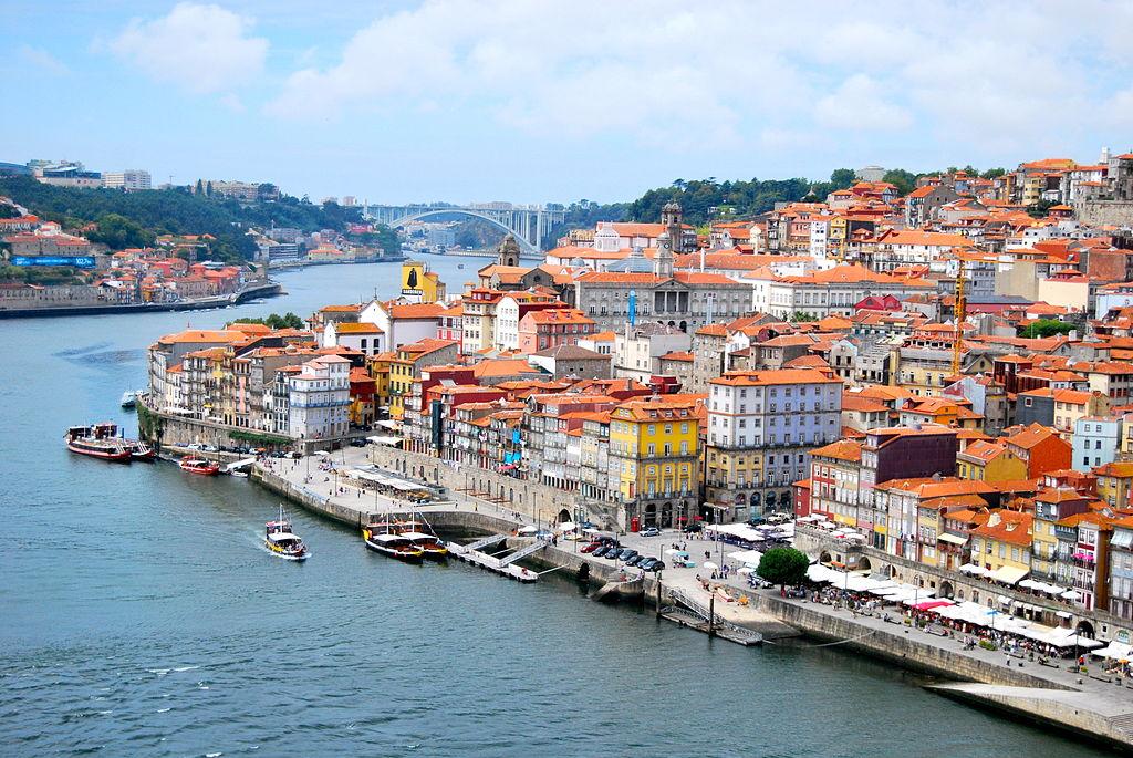 Classic image of Porto, Portugal