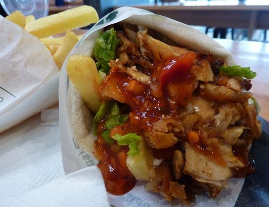 Spartan kebab, Brasov, Romania