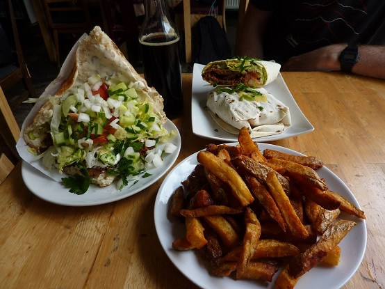 The vegan kebab - what will the world mmake of it - is it leading the way?