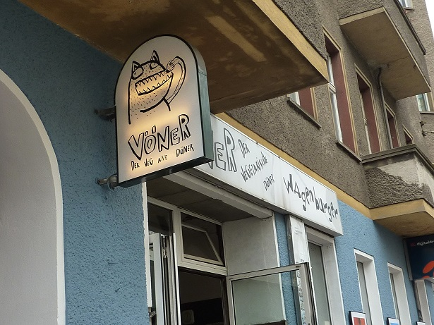 Voener Berliner Vegan kebab - the best vegan kebab I've ever had