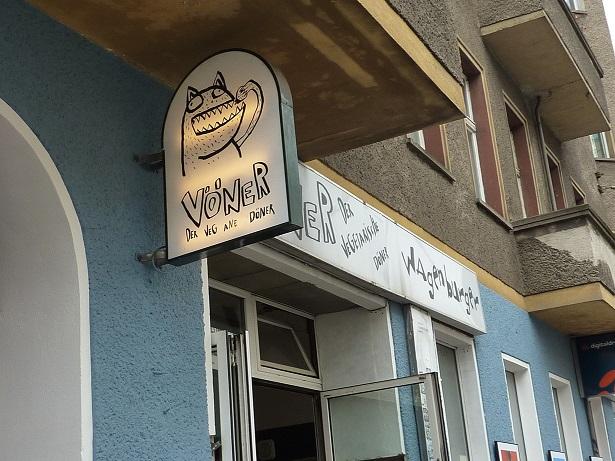 Voener Berliner Vegan kebab - the best vegan kebab I've ever had